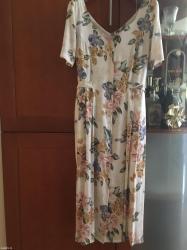 Haljina kolena - Srbija: Divna haljina od viskoze, vel. 42 marke Together, na struku se veže