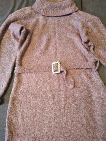 стильная женская одежда для полных в Кыргызстан: Платье шерстяное дл 114 см. раз 46/48
