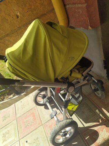 прогулочную коляску лёгкая и удобна в Кыргызстан: Продаём коляску, в хорошем состоянии. Имеются все необходимые