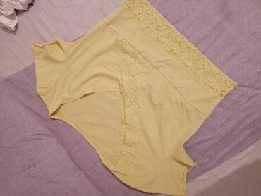 Majica krop top jednom nošena pamuk elastin i čipka 200 din, uz svaki