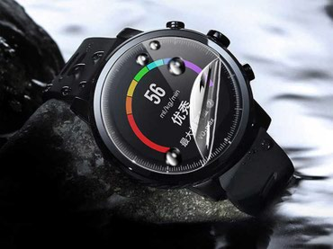 Amazfit Stratos smart saatlarının ekran qoruyucusu