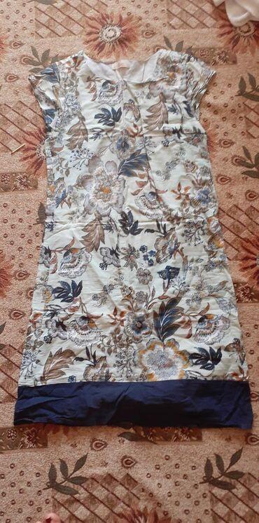отдам в Кыргызстан: Платье летнее состояние 8 из 10. Без пятен. Отдам за пачку детских