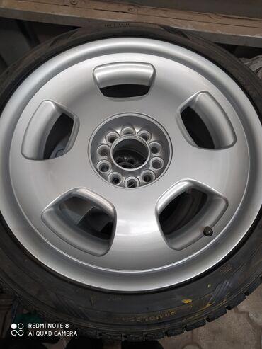б у диски в Кыргызстан: Диски с резиной R18 245/40 вылет ET+35 шырена J 8.5 разболтовка 112 H5