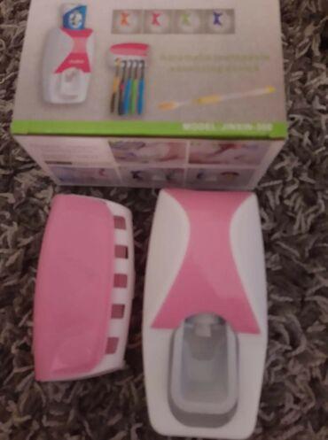 Aparat za zavarivanje - Nis: Dozer za cetkicu i pastu za zube 800din