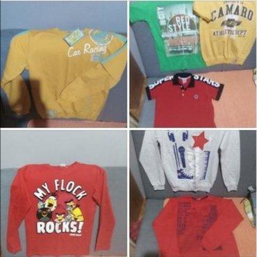 Kratkih rukava - Srbija: Paket za decaka velicina 12, sadrži 4 dukserice i 3 majice kratkih ruk