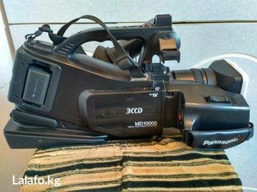 Видеокамера - Кыргызстан: Видео камера panasonic, состояние как новый, три аккумулятора и