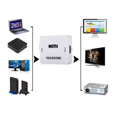 Bakı şəhərində VGA to HDMI konverter vga to hdmi переходник  поддержка 1080P