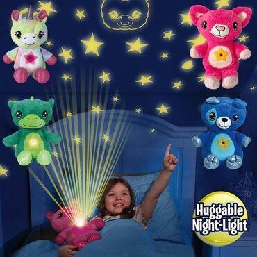 Plišane zvezdane plišane lampe za projektor Lampa Zvezdasti trbušni
