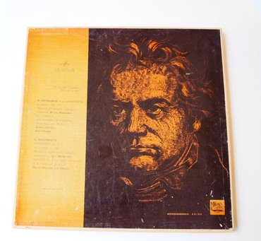 Vinyl/ploca Beethoven  Soviets had a special affinity for classical mu - Pancevo