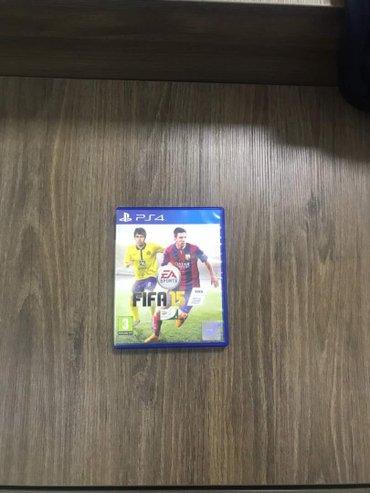 FIFA 15, PES 15 в отличном состоянии - рабочие. В оригинале. Покупалис в Бишкек