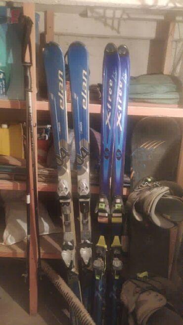 Лыжи - Кыргызстан: Продаю лыжи