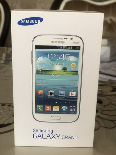 Samsung galaxy r - Азербайджан: Новый Samsung Galaxy Grand Белый