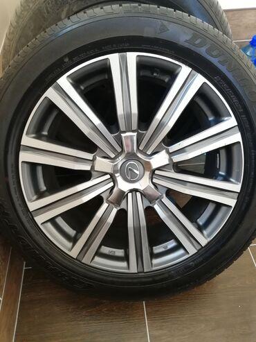 Автозапчасти и аксессуары - Бишкек: Продаю диски и шины на lx 570 Superior, размер диска r21, размер шины
