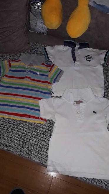 Ostala dečija odeća | Sabac: Majice za decaka,očuvane,kao nove.Sve vel.su slikane
