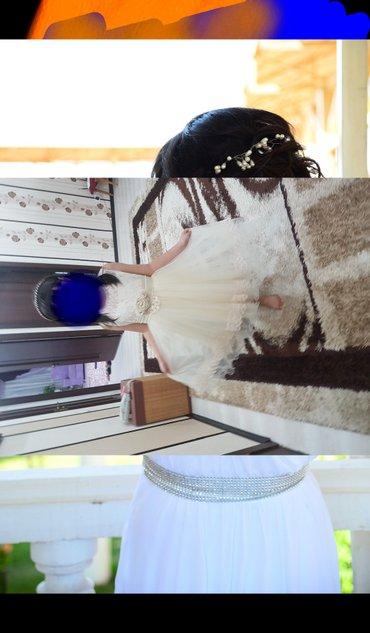 Платье белое  в греческом стиле в пол   в Бишкек
