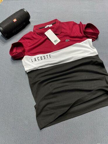 Lacoste slim fit body Lux качество батник( поло)