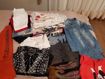 Продаю вещи пакетом для девочки 11,12 лет : куртка- косуха из эко