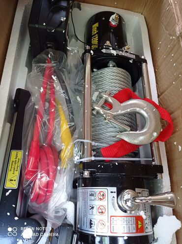установка gps на авто бишкек в Кыргызстан: Электрическая автомобильная лебедка Electric Winch 12000lbs ( 5.5тонн)