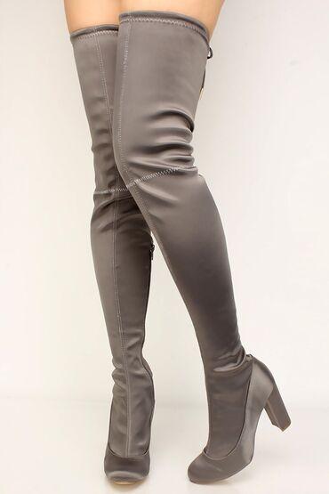 Haljina st - Srbija: Mekane i tople DUBOKE cizme (Skoro cela noga)visina stikle 8cm, ali