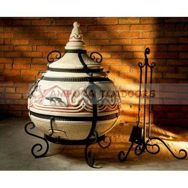 """Тандыр """"Восточный""""Изготовлен из шамотной глины.Толщина стенки"""