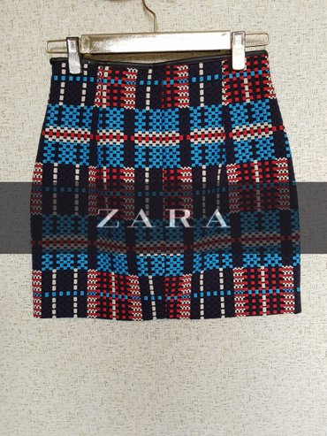Мини юбка zara. размер xs в Бишкек