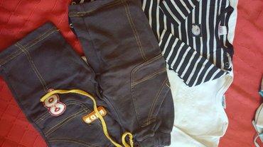 2 bodija I pantalonice  I 5 pari carapa za dete od 1 god. - Pozarevac
