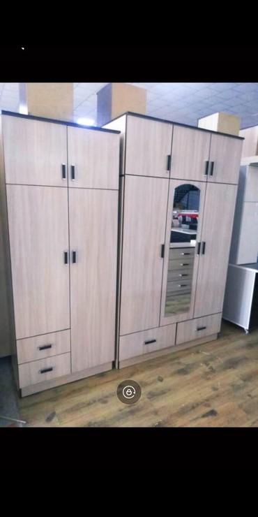 шкаф двухдверный в Кыргызстан: Новые шкафы в наличииДвухдверные 5500Трехдверные 7500Российский