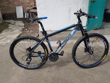 Велосипед горный,производство сингапур, рама 18 под карбон сварочных ш в Бишкек