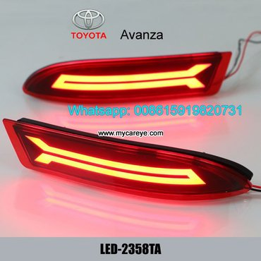 Toyota Avanza LED Rear Bumper Brake Turn Signal Lights lamps  Model in Malangawa