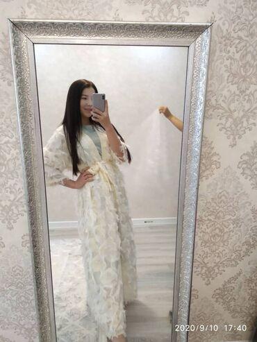 шикарное вечерние платье в Кыргызстан: Шикарная абайка в наличииФото безфильтровНаш адрес Верхний Джал🏷Цена