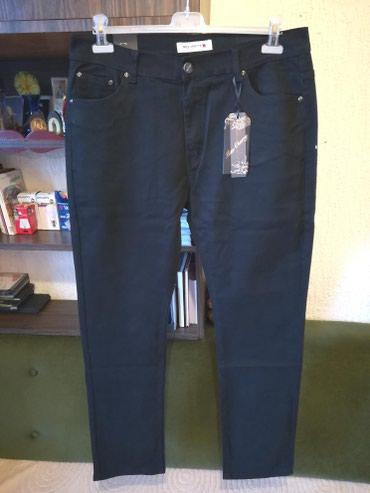 Crne pantalone sa dzepovima - Srbija: Nove zenske pantalone za punije Miss Cherry. Turske. Odlicne zenske