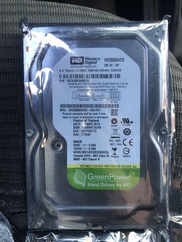 Hard Disk 500 GB Orijinal 75 manat