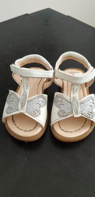Dečije Cipele i Čizme - Arandjelovac: Sandalice za devojcice waikiki, velicina 21, dva puta obuvane