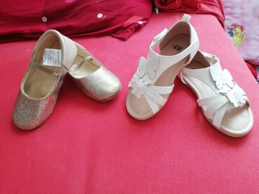 Sandale h&m, 25 broj, iz Švajcarske. Nosene samo jednom. Uz njih