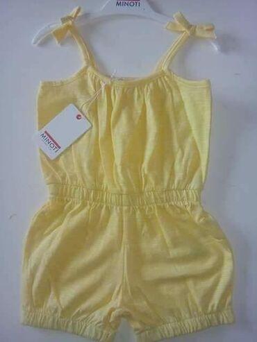 Ostala dečija odeća | Pancevo: Pamucni Minoti engleski kombinezon za 3-4,5-6god