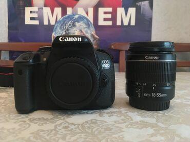 audi tt 18 tfsi - Azərbaycan: Canon EOS 650D kamerası satılır. Canon EF-S 18–55mm lens ilə. Əla