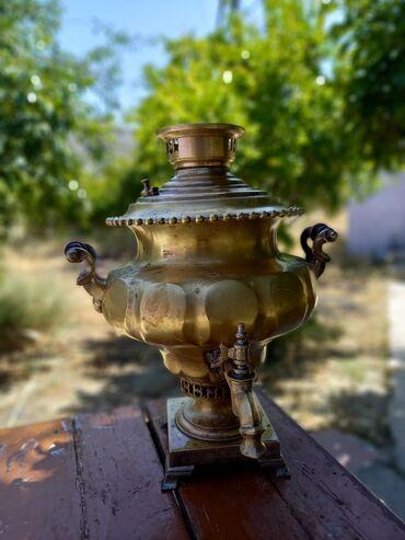 154 elan | SAMOVARLAR: Antik. 1870-ci ilə aid olan qədimi samovar. 151 yaşı var. 5 litrlik