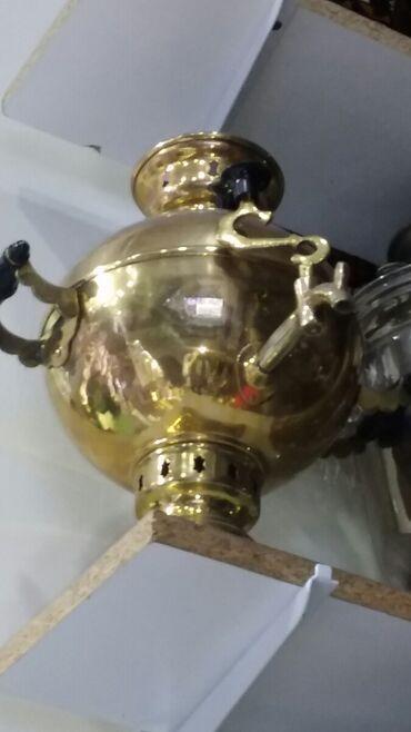 Tap az samavar - Azərbaycan: Qedimi samavar 4 litirlik samavar 180 manata