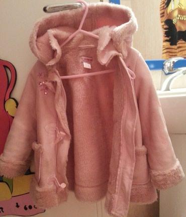 Bundu roze boje - Srbija: Waikiki kaputic jakna sa krznom - Uzrast 1-2 god, 80-92 cm