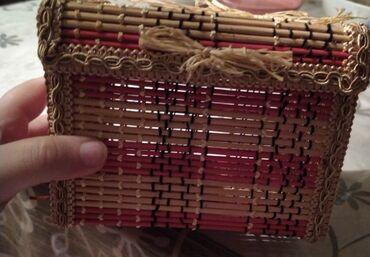 Mücrülər - Azərbaycan: Bambukdan wkatulka el iwidi tezedi