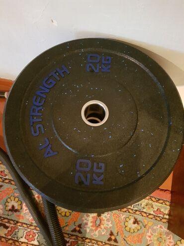 Бамперные блины олимпийские новые, 25кг,,, 250 сом 1кг