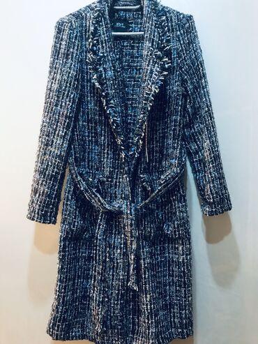 New Yorkerden alinib,toxunma uzun jaket-palto( astarsiz)