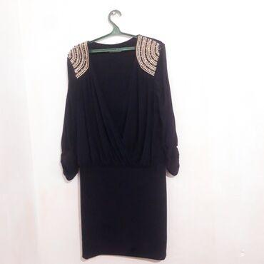 вечернее платье бирюзовый в Кыргызстан: Шикарная платье 50 размера прямиком с Турции  цена 1000 торг есть