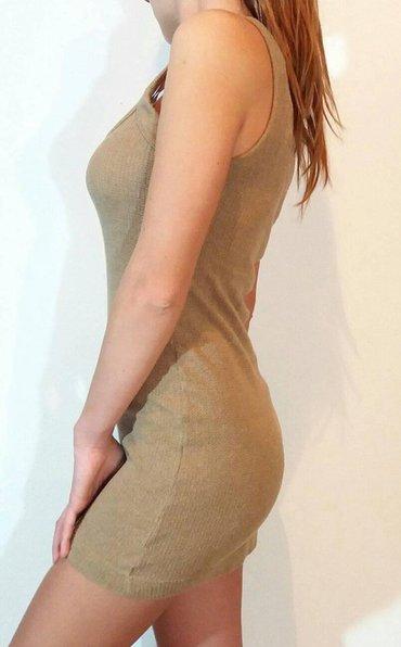 Mango,trikotazna body haljina,bez boje od visokokvalitetnog - Beograd