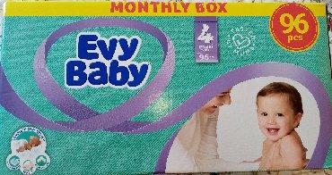 Evy baby 4 maxi pelene 7-18 kg, 96kom, NOVO neotvoreno