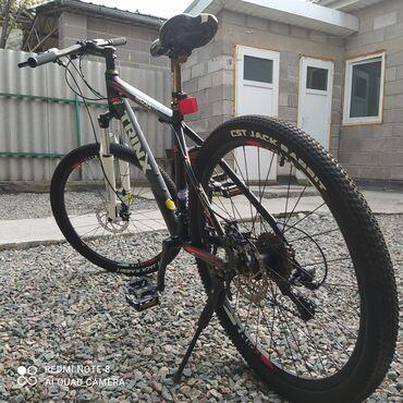 велосипеды для малышей в Кыргызстан: Продаю велосипед trinx M500 рама (17) калеса(26) сразу заменил вилку с