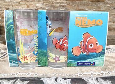 Uşaq üçün stakan dəsti Luminarc Disney Nemo 3 ədədНабор детских