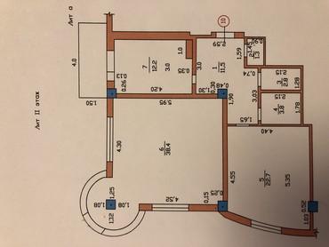 Продается квартира: 2 комнаты, 116 кв. м