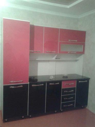 доставка кухонной мебели в Кыргызстан: Кухонный гарнитур 2,10м . 23000сом.-корпусная мебель на заказ- замер