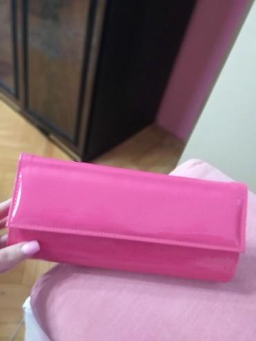 Pink pismo torbica lakovana nova - Vranje